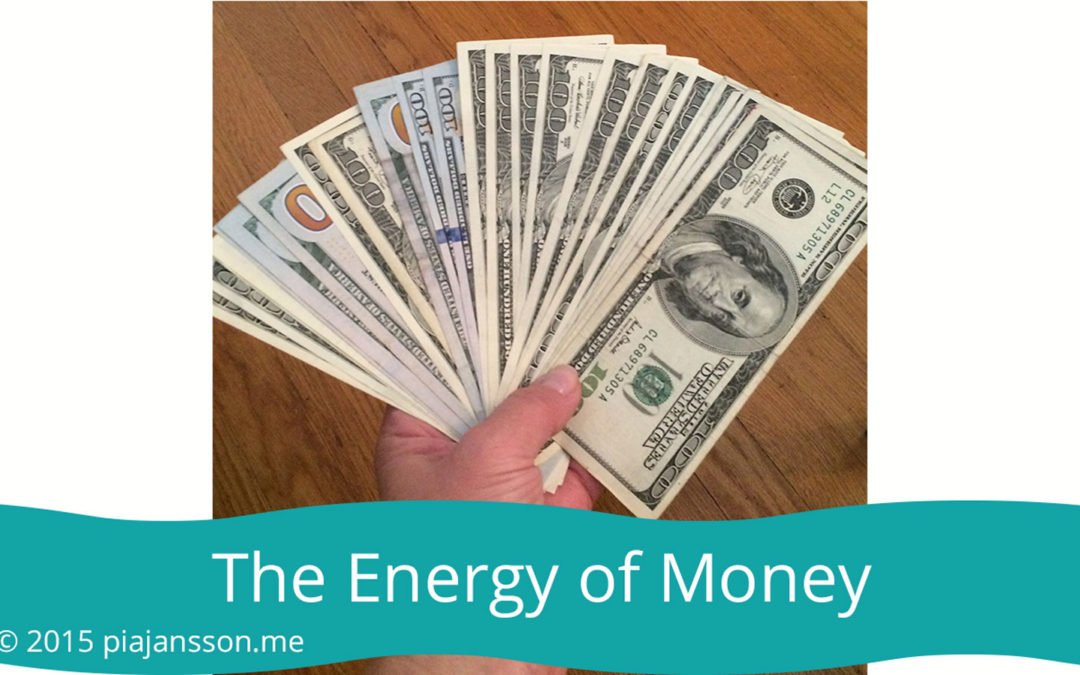The Energy and Meaning of Money