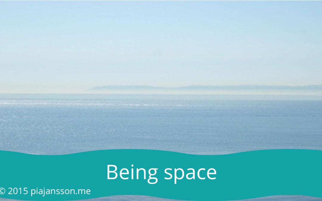 Being space