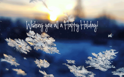 It's the holidays – time to celebrate!?